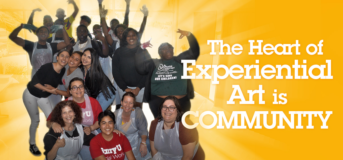 The Heart of Experiential Art is Community