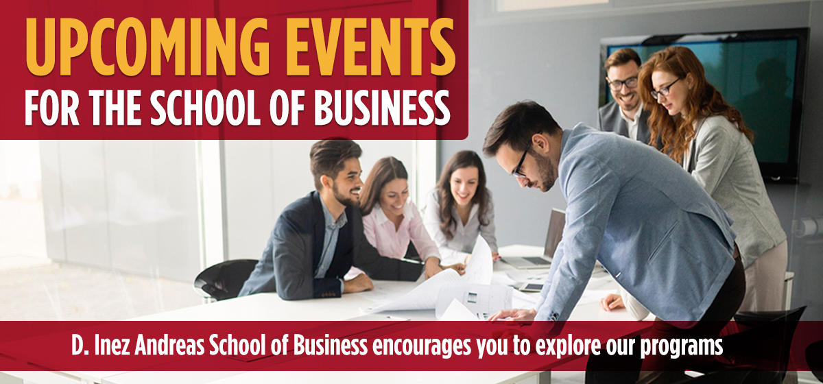 Upcoming Events for Business Professionals