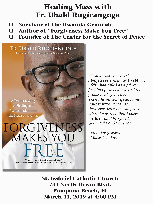 The power of forgiveness with Fr. Ubald Rugirangoga
