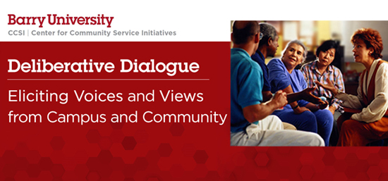 Deliberative Dialogue Series Continues on February 13