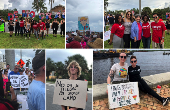 Barry University Students Take a Stance and March for Social Justice