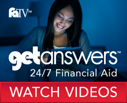 Financial Aid: Answers 24/7