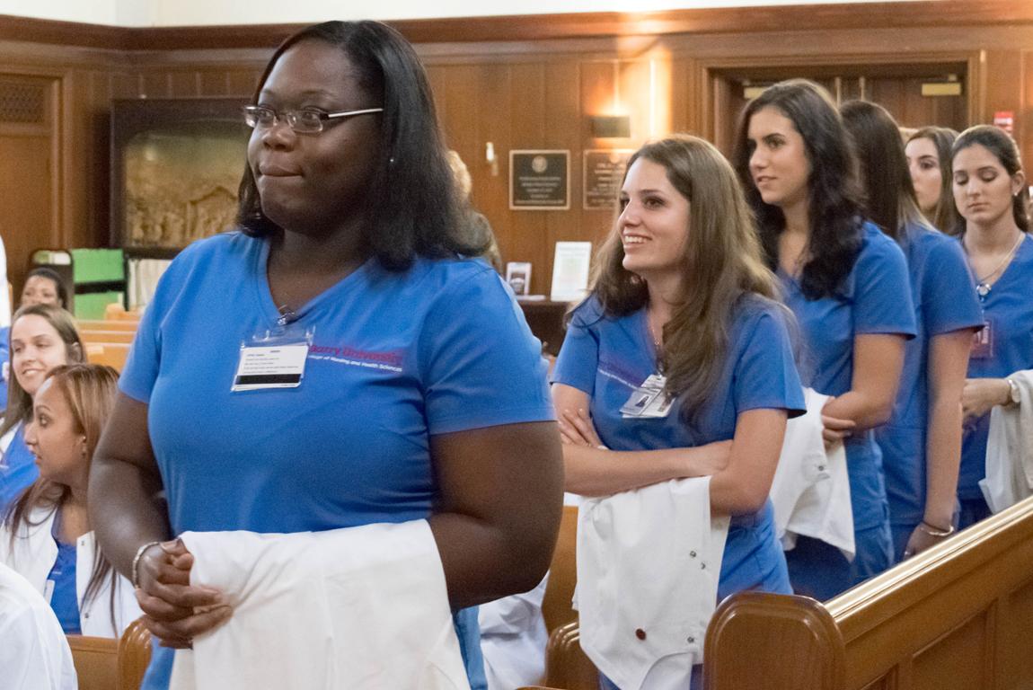 Undergraduate nursing program celebrates White Coat Ceremony