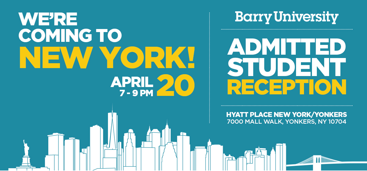 New York: Admitted Student Reception