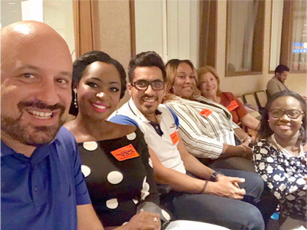 Doctoral students' field trip to the Broward County Commission