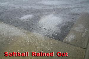 Softball Rained Out