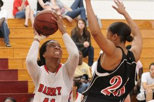 Women's Basketball Falls to Sharks