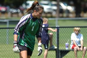 Women's Soccer Nipped By Lions