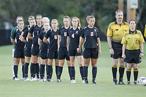 Women's Soccer Stumbles Against Winless Lions