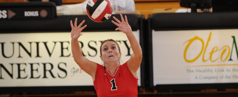 Volleyball Rolls Past Knights
