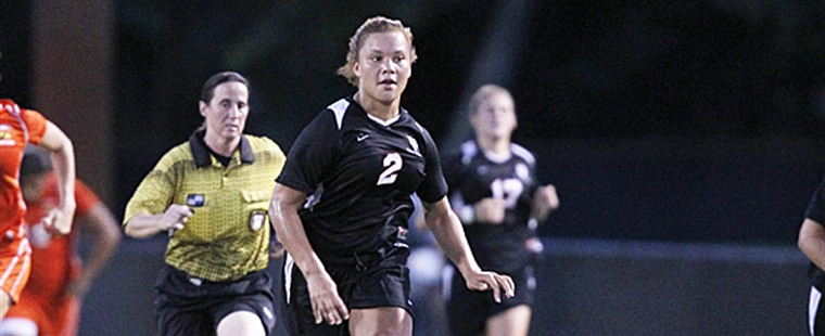 Women's Soccer Rallies Past Knights