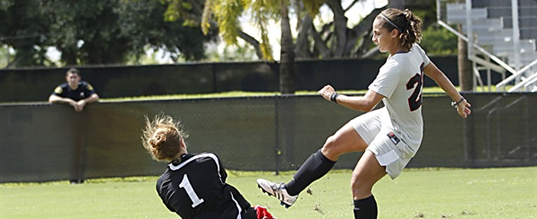 Women's Soccer Survives Spartans