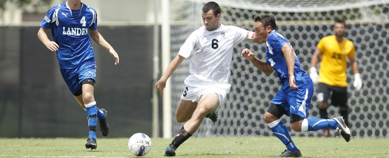 Men's Soccer Downs Spartans in Double Overtime