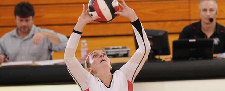 Volleyball Drops Final Regular Season Game Of The Year