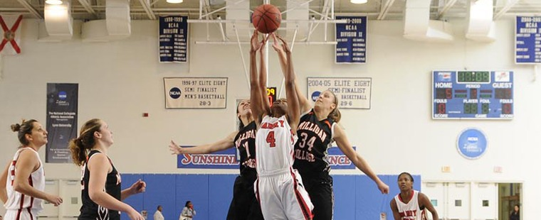 Women's Basketball Stampedes Buffalos