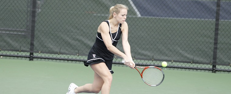 Women's Tennis Easily Downs #28 Florida Tech