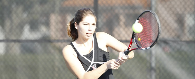 Women's Tennis Takes Regional Win From Blazers