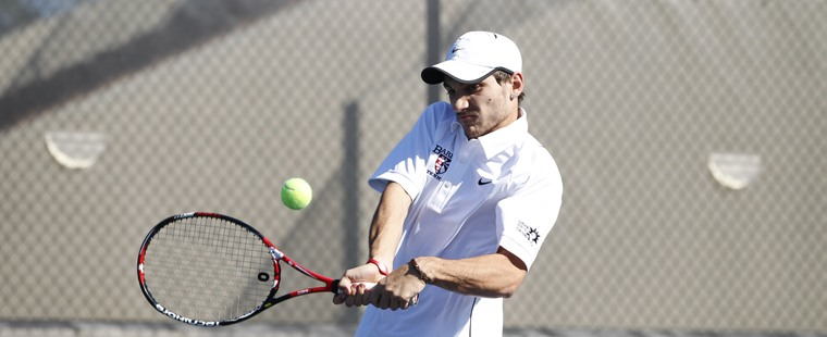 Men's Tennis Beats West Florida For Regional Win
