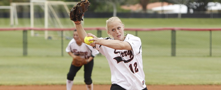 Softball Rides Smith's Shutout To Win Over Tritons