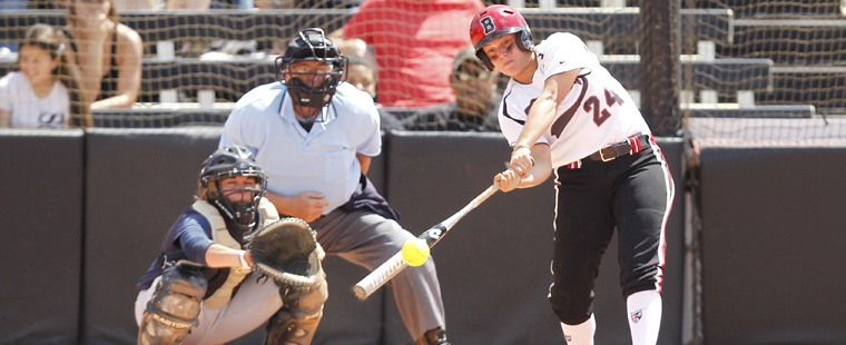 Softball Pounds Out 31 Hits In SSC Sweep Of Tritons