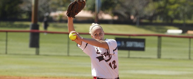 Softball Slays Lions To Open SSC Series