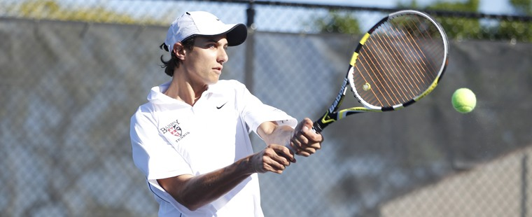 Men's Tennis Bites Tigers For 12th Win