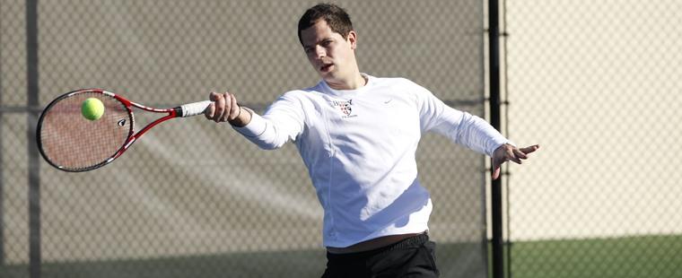 Men's Tennis Rallies To Beat Tritons