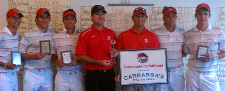 Men's Golf Captures Fourth-Straight Buccaneer Invitational