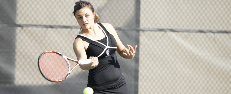 Women's Tennis Wraps Conference Play By Drowning The Sharks
