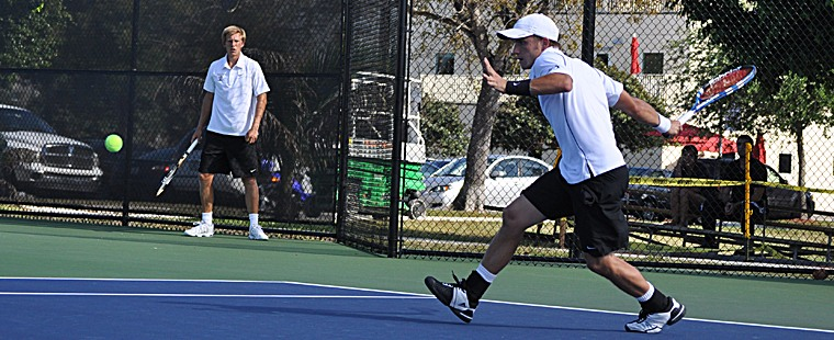 Men's Tennis Scuttled By Pirates