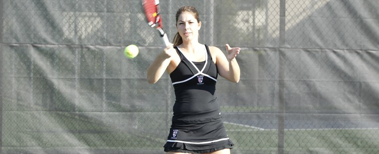 Women's Tennis Knocks Off Three-Time Defending Champs