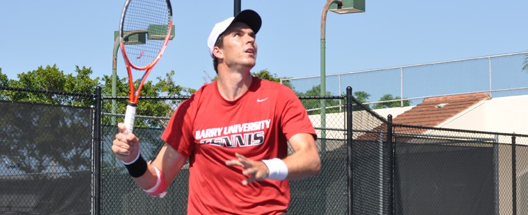 Men's Tennis Climbs Over Hilltoppers