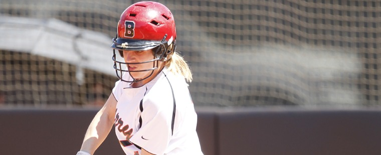 Softball Salvages A Split With Tampa
