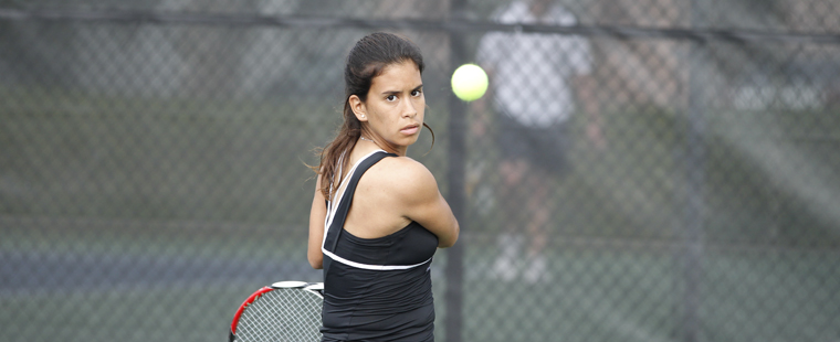 Women's Tennis Rolls In First Round Of Conference Tournament