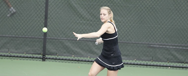 Women's Tennis Advances To Championship Of SSC Tournament