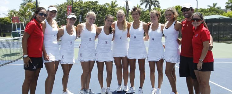 Women's Tennis Wins Second-Straight South Region Title