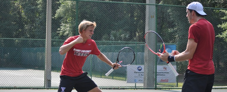 Men's Tennis Beats Concordia To Move To Fourth-Straight National Championship