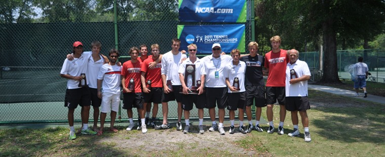 Men's Tennis Is NCAA Runner-Up