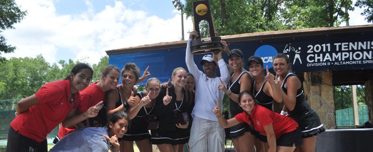 WOMEN'S TENNIS WINS NCAA CHAMPIONSHIP