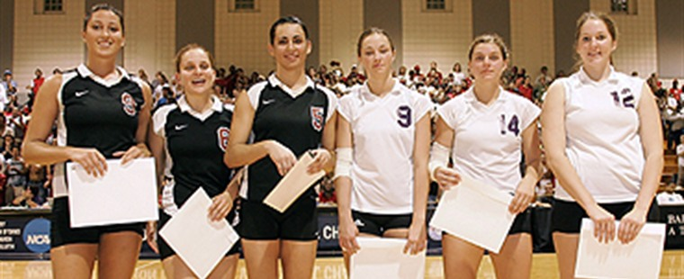 Volleyball Wins Third National Title