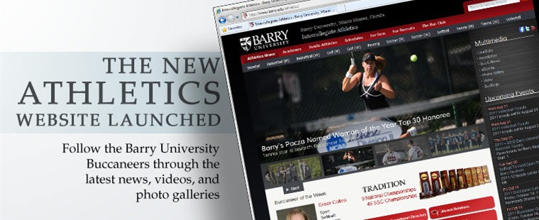GoBarryBucs.com Gets Make Over