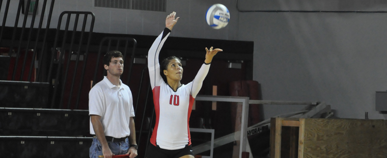 Volleyball Drops Three-Set Match To Tampa