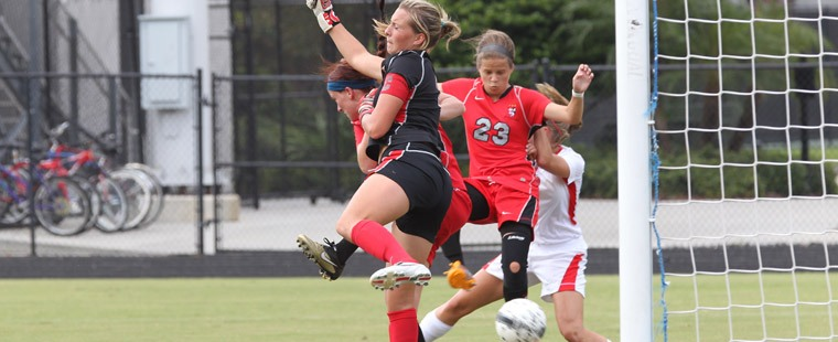 Women's Soccer Blanks Blazers At Spartan Invitational