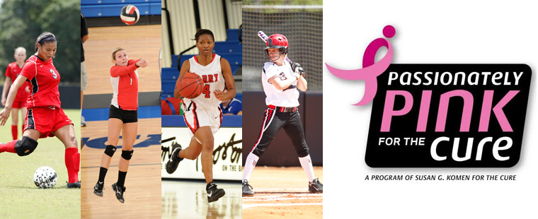 Barry Athletics Pairs With Susan G. Komen Foundation