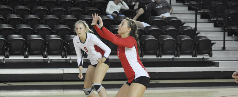 Volleyball Falls In Close Match To Eckerd