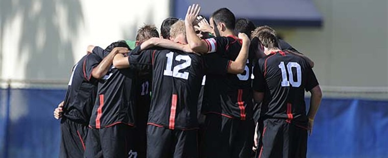 Men's Soccer Draws Third Straight Game