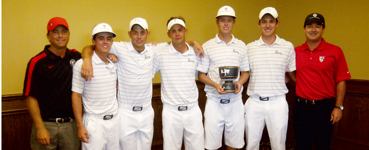 Men's Golf Takes Win At NSU Shark Invitational