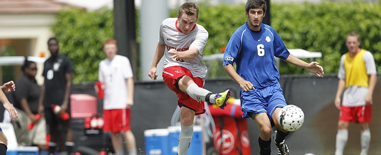 Men's Soccer Places Four On All-SSC Team