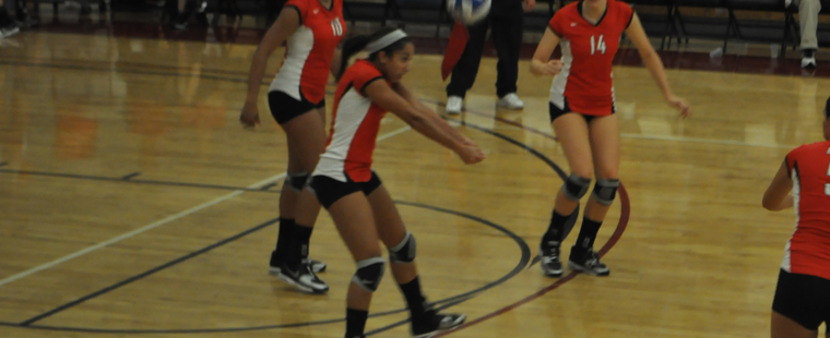 Volleyball Falls To Tars On The Road