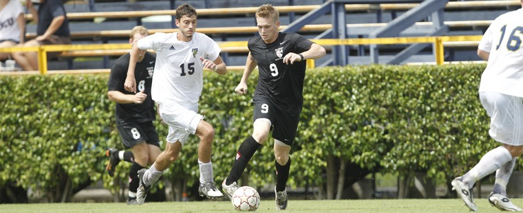 Men's Soccer Ends Season In Shootout With Rival Knights